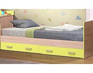 Кровать с ящиками Аджио 17Д на 900