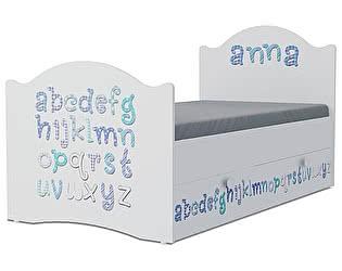 Детская кровать Klukva Алфавит Эксклюзив KХ-16Y (ящик ЛДСП выкатной)