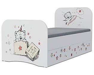 Детская кровать Klukva Тедди Стандарт KE-16Y(ящик выкатной)