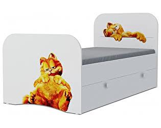 Детская кровать Klukva Гарфилд Стандарт KE-16Y(ящик выкатной)