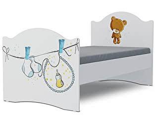 Детская кровать Klukva Мишка boy Эксклюзив KХ-16