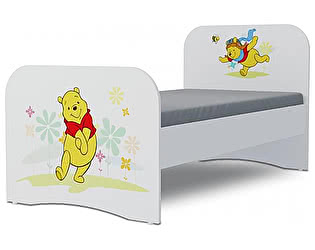 Детская кровать Klukva Винни Пух Стандарт KE-16