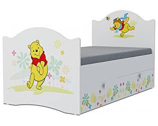 Детская кровать Klukva Винни Пух Эксклюзив KХ-16Y (ящик ЛДСП выкатной)