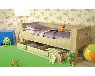 Детская кровать с ящиком Стиль Мийа-4 800/1900