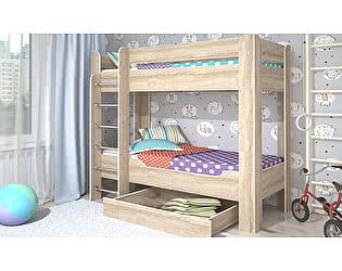 Двухъярусная кровать Стиль Мийа-4