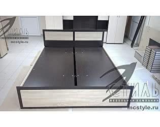 Кровать Стиль Венеция-1 с боковым подъемным механизмом (160х200)