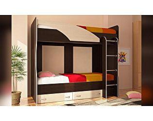 Двухъярусная кровать Стиль Мийа (У)