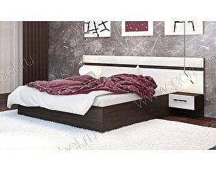Кровать Горизонт Ненси с тумбами 160х200