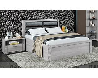 Кровать Рада Элегия КР-163, 1600 x 2000 с ЛДСП настилом