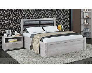 Кровать Рада Элегия КР-162, 1600 x 2000 с основанием