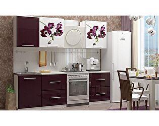 Кухня с фотопечатью Миф Орхидея 1