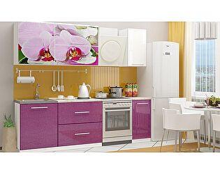 Кухня с фотопечатью Миф Орхидея 2