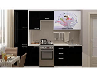 Кухня с фотопечатью Миф Лилия
