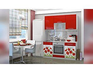 Кухня с фотопечатью Миф Маки 1,6 м