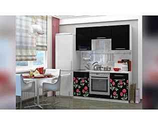 Кухня с фотопечатью Миф Маки 1,6-2 м