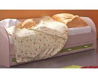 Кровать Santan Элит КР-04 (90, ольха / розовый)