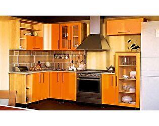 Угловая кухня VitaMebel Dolce Vitа-19, МДФ металлик