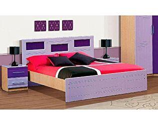 Кровать VitaMebel Vivo-5 (МДФ металлик) 140х200