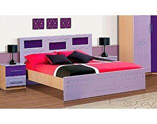 Кровать VitaMebel Vivo-5 (МДФ металлик) 160х200