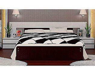 Кровать VitaMebel Vivo-11 (140х200) с прикроватными тумбами