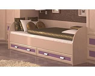 Кровать Santan Элит КР-04 (90, розовая)