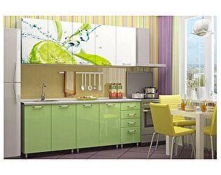 Кухня с фотопечатью Регион 58 Лайм 2.0 м МДФ