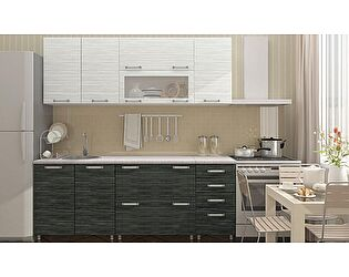 Кухня с фасадами Регион 58 Техно  2.0 м МДФ (глянец)