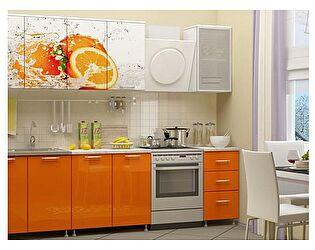 Кухня с фотопечатью Миф Апельсин 2,0 м ЛДСП