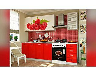 Кухня с фотопечатью Миф Малина 2000 ЛДСП