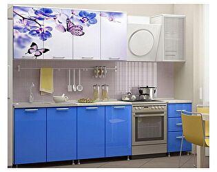 Кухня с фотопечатью Миф Бабочки 2,0 м ЛДСП