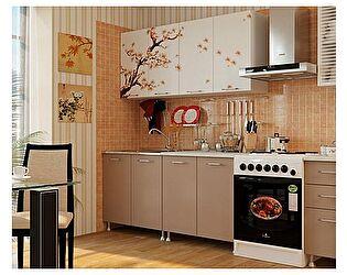 Кухня с фотопечатью Миф Сакура 2,0 м ЛДСП