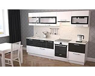 Кухонный гарнитур Миф Трио, белый глянец