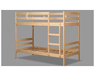 Купить кровать Аджио ЭКО-12 из массива 90/200