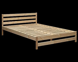 Кровать Аджио ЭКО-10 из массива 140/190