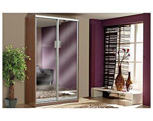 Купить шкаф Аджио Рамир фасад 2 зеркала (1120х2200х440)
