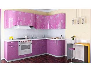 Модульная кухня тип 3, (композиция 9) 2364х1200 мм, угловая, фиолетовый