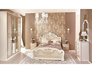 Модульная спальня Любимый дом Гранда, штрихлак