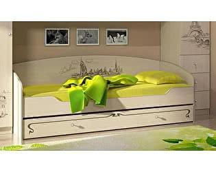 Кровать Мийа-3 КР-301 (80х200), фотопечать