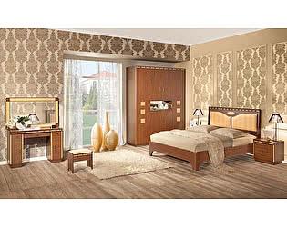 Купить спальню Уфамебель Кэри Gold (композиция 1) модульная
