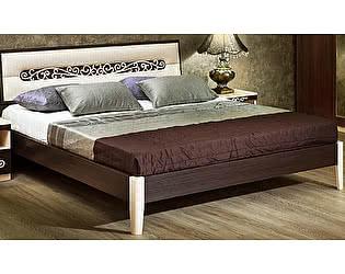 Кровать Уфамебель Каролина М1 160 (прямая ножка)
