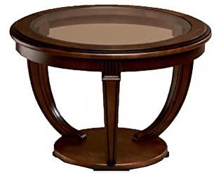 Стол журнальный Уфамебель со стеклом 146 б