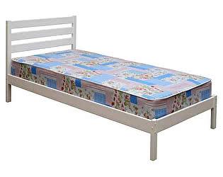 Кровать Аджио ЭКО-7, 90х190/200, белая