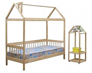 Кровать-домик Аджио ЭКО-21, 80х170