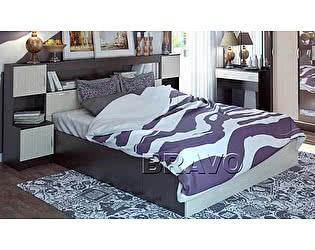 Кровать Бася КР-552 с закроватным модулем 160