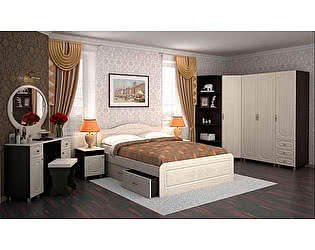 Модульная спальня Браво Фиеста (композиция 5)