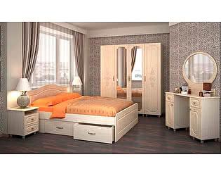 Модульная спальня Браво Фиеста (композиция 8), перламутр