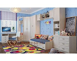 Модульная детская SV-мебель Вега, композиция 1
