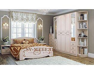 Модульная спальня SV-мебель Королла, композиция 1