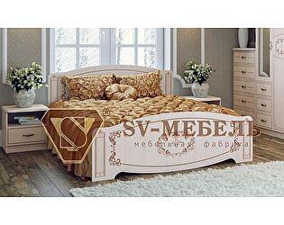 Двуспальная кровать SV-мебель Королла МК-04 (1600 х 2000)