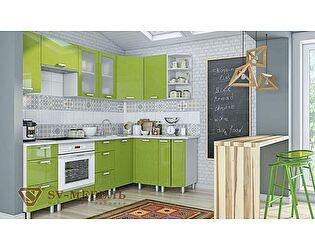 Модульная кухня SV-мебель Модерн, олива